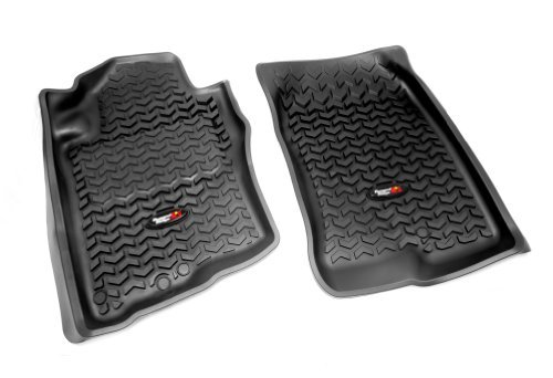 rugged-ridge-all-terrain-8290510-black-front-row-floor-liner-for-select-nissan-pathfinder-and-xterra