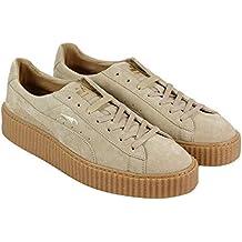 063359632 Puma Suede Creepers Men Size 10 Rihanna Fenty Oatmeal