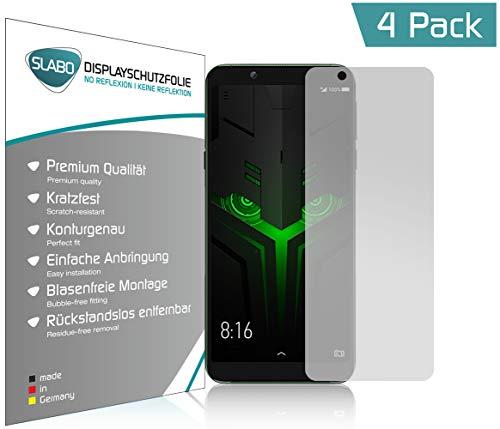 Slabo 4 x Bildschirmschutzfolie für Xiaomi Black Shark 2 Helo Bildschirmfolie Schutzfolie Folie Zubehör No Reflexion MATT