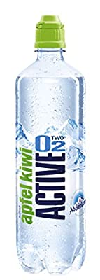 Active O2 Apfel Kiwi, 8er Pack (8 x 750 ml)