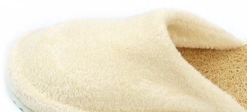 Loofah Savannah Closed Toe Spa Slippers Size 43-44 European
