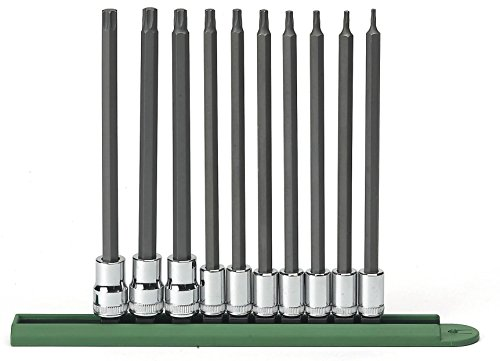 GearWrench 8058810teiliges Lange Torx Set (t8-t50) -