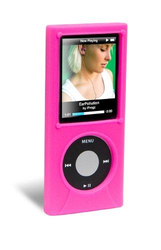 Ifrogz Nano (ifrogz 4th Gen Nano Silicone Wrapz Pink Silikon - MP3-/ MP4-Player-Taschen (Pink, 4th Gen Nano, Silikon))