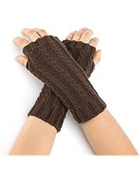 Ohne Finger warm Stulpen Schwarze Handschuhe Neu Kanninchenfell