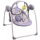Balancelle bébé électrique/transat : SPARKY GRIS