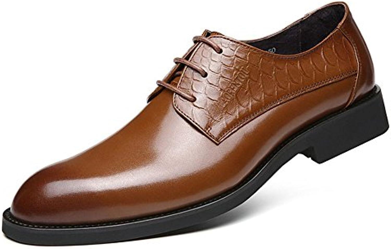 Uomini occasionale scarpe di cuoio, business casual scarpe di pelle, scarpe di cuoio con punte taglienti, britannico... | Materiali Di Prima Scelta  | Gentiluomo/Signora Scarpa