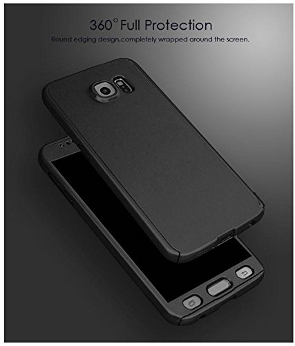 more photos 9de21 ef043 Shop Buzz XIAOMI REDMI NOTE 4 (2017) Ipaky 360 Full Protective Case Cover  (Black) , All-round Protective Slim Fit Case Cover with Tempered Glass ...