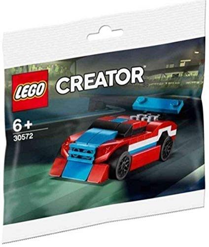 Lego Polybag Rennauto mit Heckspoiler