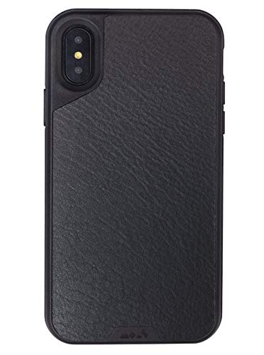 best loved 70812 ba4da MOUS Limitless-protective Case-iphone 8plus/7plus/6plus/6splus-Black  Leather-Screen Protector Included