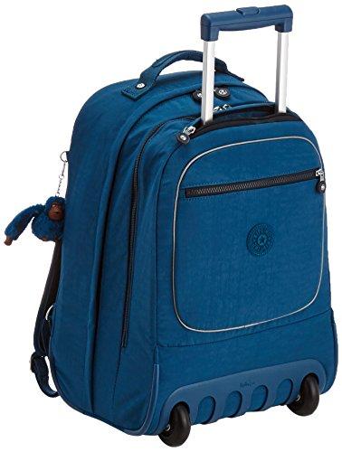 Kipling - CLAS SOOBIN L - Großer Rucksack - Teal C - (Blau) (Wheeled Kipling Backpack)