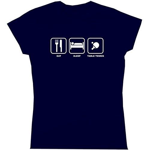 six pound tees Camiseta - Asimétrico - Mujer Morado Azul Marino XX-Large