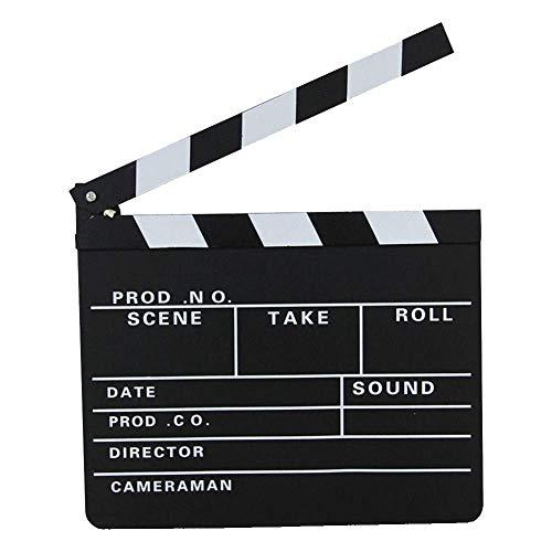 NewinStar Regie Film-Schindel-Cut Action-Szene Clapper Board Schiefer mit Fotografie Prop Dekoration