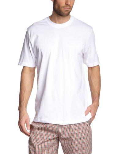 Schiesser Herren Unterhemd American T-Shirts Schwarz