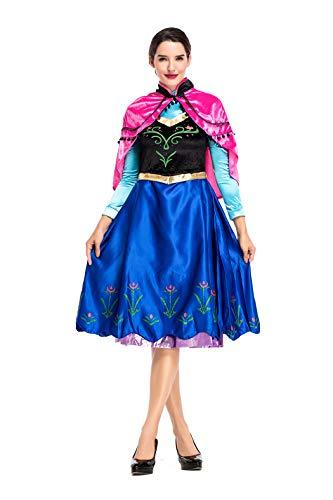 VENI MASEE Women's Snow Princess Swan Halloween Cosplay Fancy Dress (Swan Princess Kostüm)