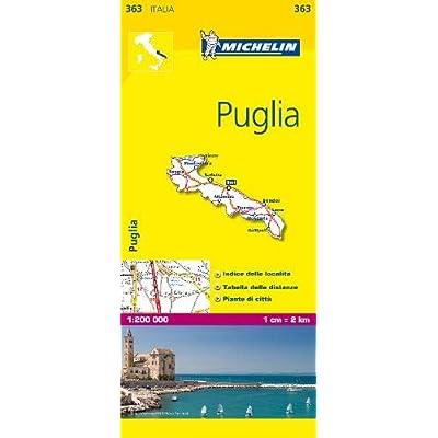 Michelin Map Puglia