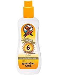 Australian Gold SPF 6 Spray Gel, 1er Pack (1 x 237 ml)