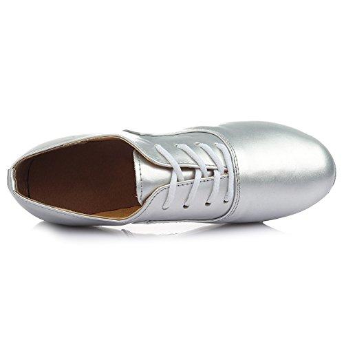 Swdzm Hommes / Garçons Chaussures De Danse De Chaussures Modèle Chaussures Standard 701 Silver
