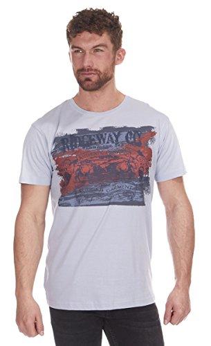 Cargo Bay Herren T-Shirt Blue Rugged