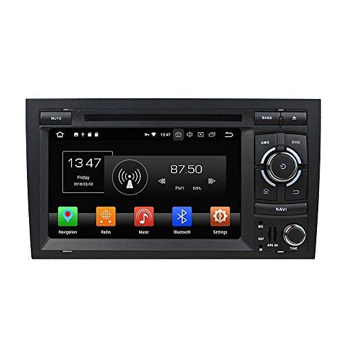 Kunfine Android 8.0 Octa Core Car DVD GPS Navigation Multimedia Player Car...