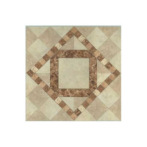 Sq Cover (Vinyl Self Stick Floor Tile 23430 Home Dynamix - 1 Box Covers 20 Sq. Ft. by Home Dynamix)