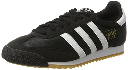 adidas Dragon OG, Baskets Homme, Noir (Core Black/Footwear White/Gum 0), 44 EU