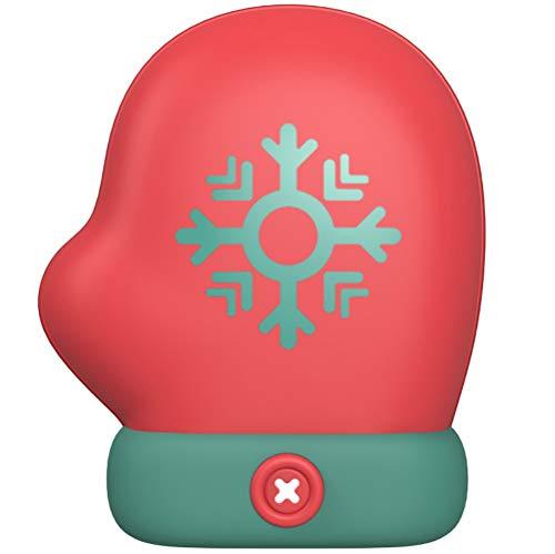 Fey-eu, scaldamani ricaricabile, 5000 mah 2 in 1 elettrico usb tascabile scaldamani a doppio lato, riscaldatore portatile per telefono