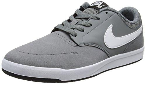 Nike Sb Fokus, Chaussures de Sport Homme Gris (Cool Grey/white-black)