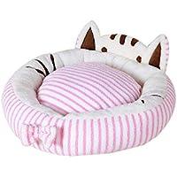 gouxia74534 Saco de Dormir casa cojín Alfombra Pad Universal Panal Suave Joli Chat Visage modelaje Invierno