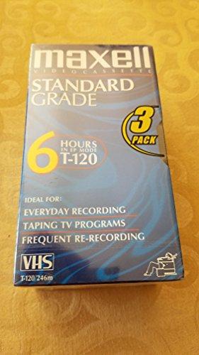 Preisvergleich Produktbild Maxell 214048 VHS Blank Video Tape – Blank Video Tapes