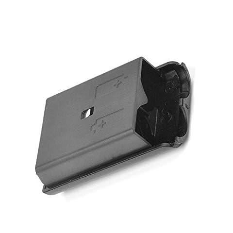Remplacement Couvercle Cache Etui Coque housse de Batterie Pour Manette Sans Fil Xbox 360 - Noire