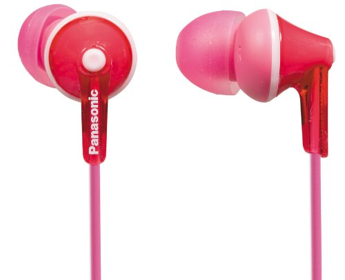 Panasonic RP-HJE125E-P Auriculares Boton Cable In-Ear