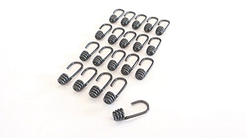 Zubehör 10  Spiralhaken 10mm Spiral Haken für Expanderseil Seil Spanner Plane Banner LKW