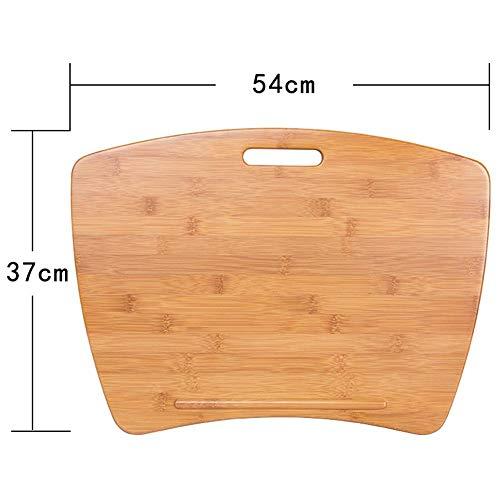 Dianz Accueil/Meubles/Table Wandhalterung Designer Lap Desk Übergroßer Memory Foam Lap Desk Unterstützt Laptops bis zu 20 Zoll 2 Größen Klapptisch,54 * 37 cm -