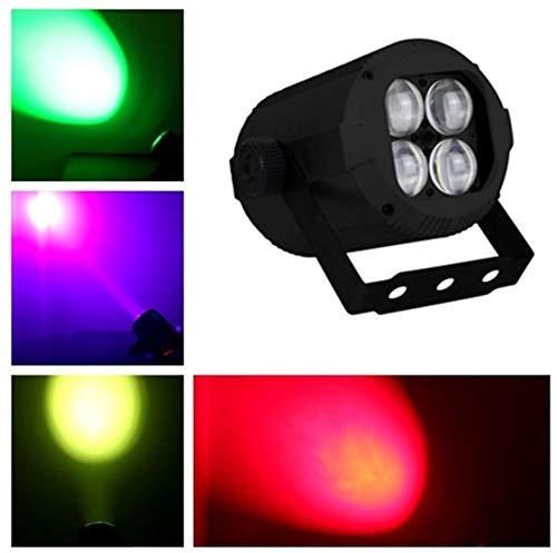 BORYLi 10w X 4 Par mini zoom luz RGBW Teñido distancia