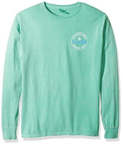 Blue 84 NCAA South Carolina Fighting Gamecocks Erwachsenen-T-Shirt, gefärbt, ringgesponnen, modisch, Größe S, Seafoam -