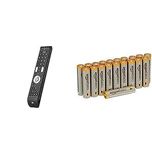 Tlcommande-universelle-One-For-All-Essence-4-Noire-Tlcommande-Parfaite-de-remplacement-TV-Dcodeur-DVD-Blu-ray-et-appareils-Audio-Garantie-de-fonctionner-avec-toutes-les-marques-URC-7140