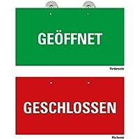 "Vintage /"" OPEN /& CLOSED /"" Schild Türschild Oldschool Retro Holz Wendeschild"