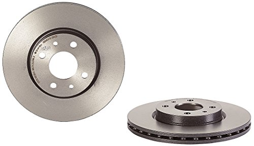 Brembo 09.5843.11 - Disco Freno Anteriore con verniciatura UV - Set di 2 dischi