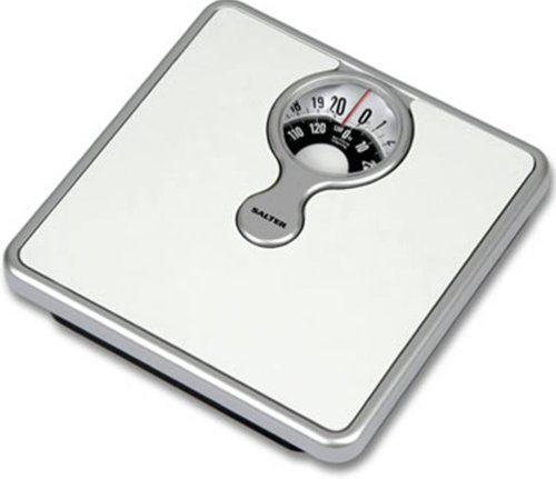 Salter-484-Mechanical-Bathroom-Scale-with-Magnifying-Lens
