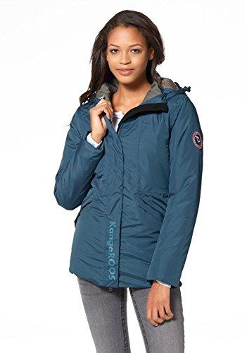 KangaROOS Damen 3in1 Mantel Jacke Blau