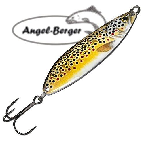 Angel-Berger Real Slim Blinker (Bachforelle, 12g)