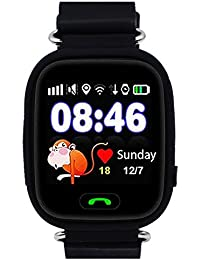 9Tong Kids GPS Smart Watch Childrens Smartwatch GPS Tracker GSM Sim Touch Screen Support SOS Call Voice Chatting Activity Tracker For Boys Girls