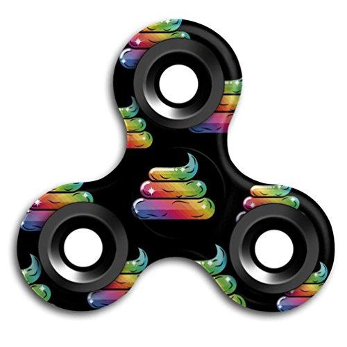 Preisvergleich Produktbild Saingace Emoji Tri-Spinner Fidget Spielzeug Kinder Geschenk EDC Spielzeug Hand Finger Spinner Schreibtisch Stress