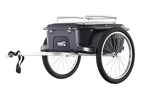 Red Cycling Products PRO Cargo Trailer schwarz 2018 Fahrradanhänger (Fahrradanhänger Cargo)