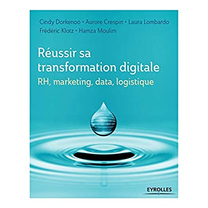Réussir sa transformation digitale: RH, marketing, data, logistique.