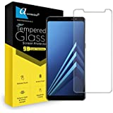 For Samsung Galaxy A8 (2018) Curve Tempered Glass Gorilla Screen Protector Screen Guard High Premium Quality 9H Hard 2.5D Ultra Clear (Transparent)