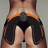 YHviking Fitnessgeräte Hip Ausbildung,Elektronische Rückseite,Hüften EMS Muskelstimulator Trainingsausrüstung Für Aber Frauen Batteriemodell(Ohne Akku)