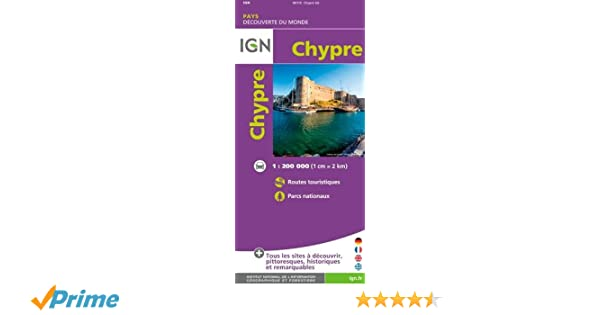Carte Routiere Chypre Ign.Chypre Amazon Fr Ign Livres