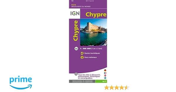 Carte Ign Chypre.Chypre Amazon Fr Ign Livres