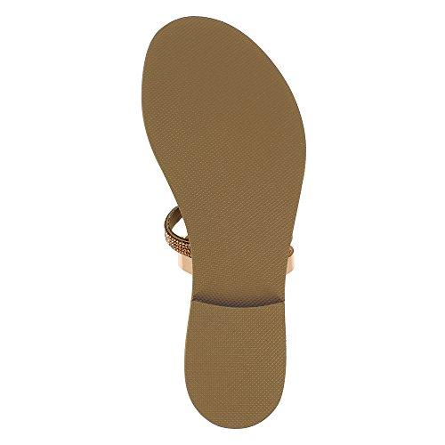 GRETA Damen Sandale Kombi Leder Altrosa